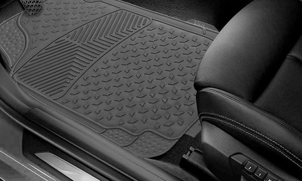 Semi-Custom Trimmable Vinyl Floor Mats
