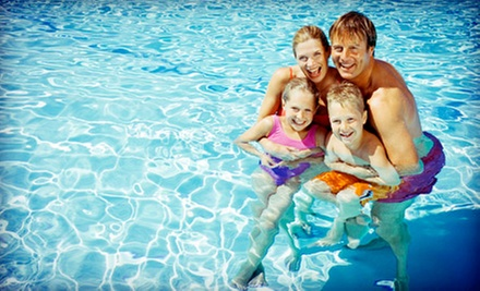 Pool Pass for a Family of Four or Six Plus Hot Dogs and Sodas at Groton Pool and Golf Center (Up to Half Off)
