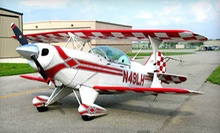$179 for a 30-Minute Aerobatic Airplane Thrill Ride from Four Winds Aviation ($399.99 Value)