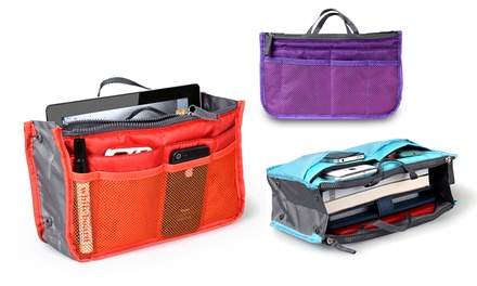 Multi-Pocket Slim Bag Organizer
