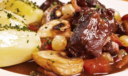 $31 for $50 Worth of French Dinner Cuisine at Le Rendez-Vous