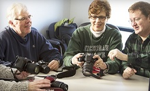 $15 for an Intro to DSLR Cameras Class at Smarter Pics ($30 Value)