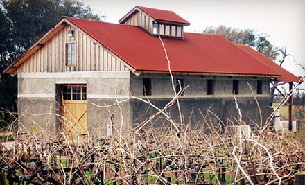 Winery Tour with Tasting and Take-Home Bottles of Wine for Two or Four at Amador Cellars (Up to 60% Off)