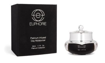 Euphorie Cosmetics Platinum-Infused Day Facial Moisturizer; 1.7 fl. oz.