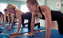 5, 10, or 20 Barre-Fitness Classes at Fit in 60 (Up to 67% Off)
