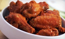 $12 for $25 Worth of Wings, Burgers, and Other American Food at Buffalo Wings & Rings