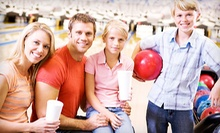 $25 for Bowling for Six with Shoe Rentals, Pizza, and Soda at Mariner Lanes (Up to $81.39 Value)