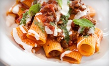 Italian-Inspired Dinner for Two or Four at VB3 Restaurant in Jersey City (51% Off)