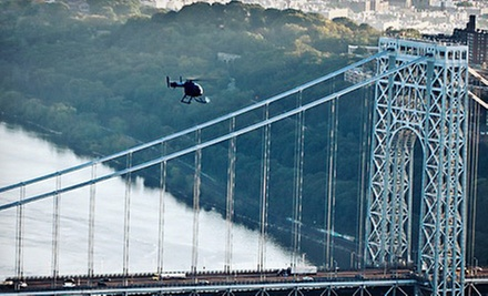 $358 for a 30-Minute Scenic Helicopter Tour over New York City for Two from Wings Air ($672 Value)