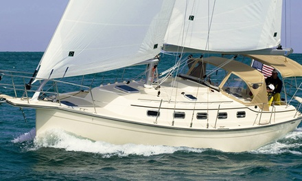 Two-Hour Sunset or City Cruise or Morning, Afternoon, or Sunset Sailing Charter from 46% Off)