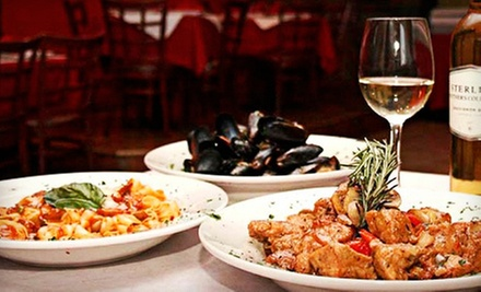 Three-Course Italian Dinner for Two or Four at Aroma D' Italia (Up to 58% Off)