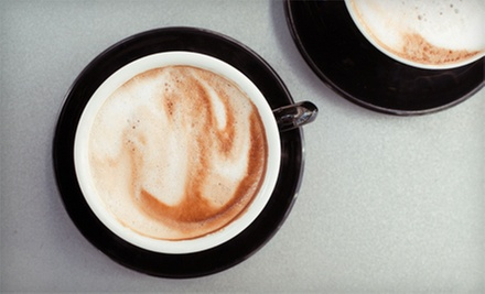5 or 10 Large Coffees or Medium Espresso Drinks at Simon Sips (Up to Half Off)