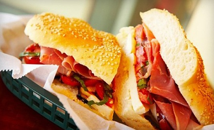 $15 for $30 Worth of Deli Sandwiches, Pizza, and Burgers at The Real Deal