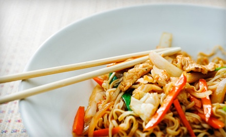 $15 for $30 Worth of Thai and Japanese Food and Drinks at Sala Cafe