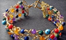 Jewelry-Making Class for One or Two Kids or Adults, or a Birthday Party at TiaMarie Beading Studio (Up to 59% Off)