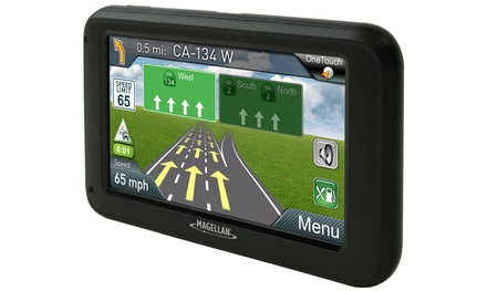 Magellan RoadMate 5230T-LM GPS Navigator with Lifetime Maps and Traffic (Manufacturer Refurbished)