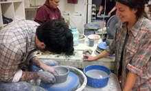 One or Three Pottery Classes, or Three Private Pottery Classes at Create in Clay School of Ceramics (Half Off)