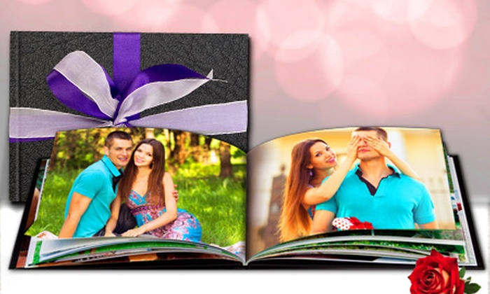 Printerpix_IE: Leather-Bound Valentino Photobook from €17.99 With Free Delivery (Up to 81% Off)