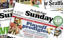 "26- or 52-Week Sunday Print Subscription with 7-Day Digital Access to ""The Seattle Times"" (Up to 86% Off)"