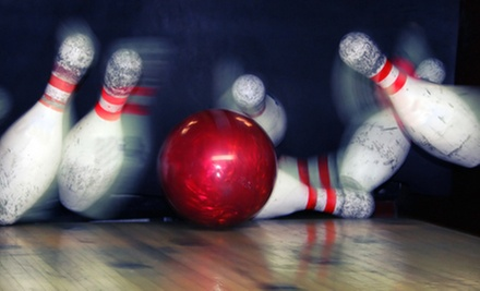 $15 for Bowling with Shoes for Four at Southport Lanes & Billiards, Seven Ten Lounge & Seven Ten Lanes (Up to $47 Value)