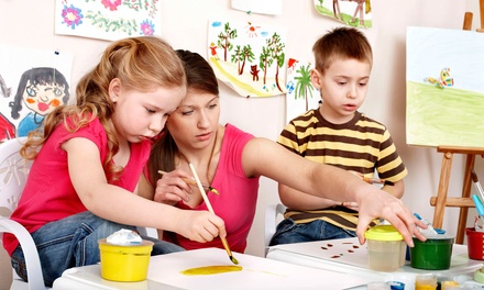 Little Picasso or Art Studio Express Party for Up to Four, Six, or Eight Kids at Sweet Treats Spa (Up to 51% Off)