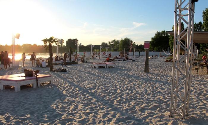 sundown beach club k ln deal des tages groupon k ln. Black Bedroom Furniture Sets. Home Design Ideas