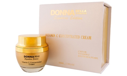 Donna Bella Signature 24K+Caviar Vitamin C Concentrate Skincare Cream (1.7 fl oz)