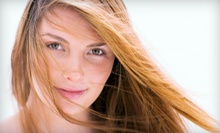 Haircut and Style with Optional Partial Highlights at Salon Alexander (Up to 51% Off)