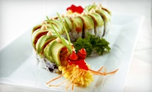 Sushi for Two, Four, or Six at Sushi Rock Sobe Lounge (Half Off)