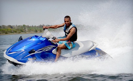 $42 for a One-Hour Jet-Ski Rental from Blue Water Powerboat Rentals ($84 Value)
