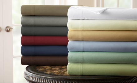 The Hotel Collection by PCT Microfiber Sheet Set