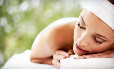 Deep-Tissue Massage or Deep-Cleansing Facial at Goshias Hair and Nail Designs (Up to 53% Off)