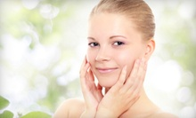 Spa Packages with Body Scrub and Organic Facial with or without Manicure at pink Lime Salon & Spa (Up to 73% Off)