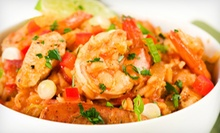 Cajun Food at Blue Bayou Bar & Grill (Up to 52% Off). Two Options Available.
