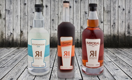 Artisan-Crafted Spirits for Two or Four at Roundhouse Spirits (Half Off)