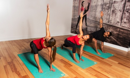 10 or 20 Fitness Classes at UEvolution (Up to 70% Off)