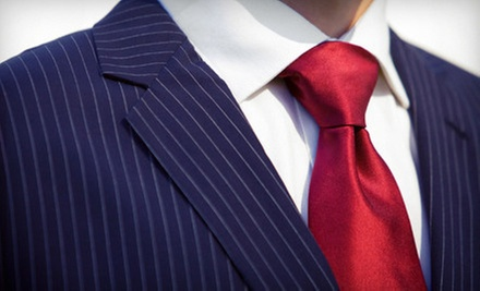 One or Three Custom-Tailored Shirts or a Custom-Tailored Wool Suit from Hong Kong Custom Tailors (Up to 63% Off)