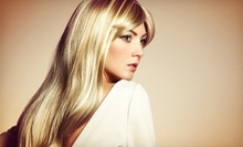 $35 for Haircut and Style with Highlights or All-Over Color at Accents 3101 Salon ($97 Value)