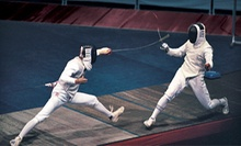 Four or Six Introductory Fencing Classes at The Fencing Center (Up to 62% Off)