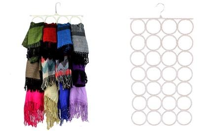Set of 2 Beige Scarf Hangers
