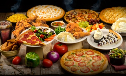 Pizza Buffet for Two, Four, or Six at Pizza Ranch (Up to 41% Off)