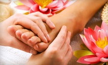 One or Two Full-Body Massages with Foot-Reflexology Packages at Day Spa Nirvana (Up to 53% Off)