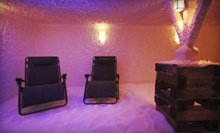 Salt-Room Session and Chair Massage for One or Two, or One-Month Membership to The Centerville Salt Room (Up to 54% Off)
