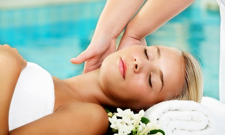 Spa and Salon Packages at VA Spa & Salon (Up to 52% Off). Three Options Available.