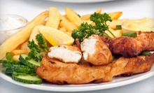 $10 for $20 Worth of British Food and Drinks at The Chip Shop