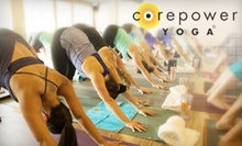 $59 for One Month of Unlimited Yoga Classes with an Additional Week for New Students at CorePower Yoga ($185 Value)