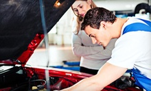 $39 for Three Oil Changes, Two Tire Rotations, Engine-Light Check, and Inspections from Auto Care Special ($199 Value)