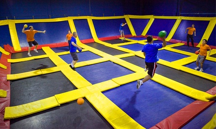 Two Hours of Jump Time Monday–Thursday or Friday–Sunday at Sky High Sports (Up to 54% Off)
