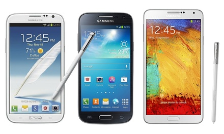 Samsung Galaxy S3, S3 Mini, S4, Note 2, or Note 3 from $99.99–$319.99 (GSM Unlocked) (Refurbished)