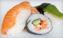 Sushi and Japanese Cuisine for Dinner for Two or Four at Hanayuki Japanese Restaurant (Half Off)